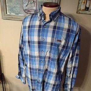 Carhartt Long Sleeve Plaid Shirt XL Tall